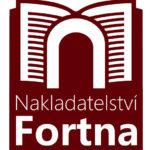 Logo Nakladatelství Fortna (červené)