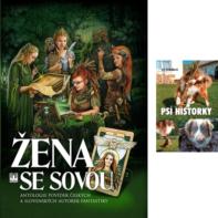 Zena se sovou_Psi historky