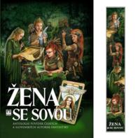 Zena se sovou_papirova-zalozka